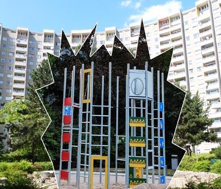 Eine Kletteranlage für die Gropius-Stadt